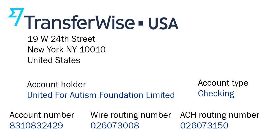 United for Autism Donate